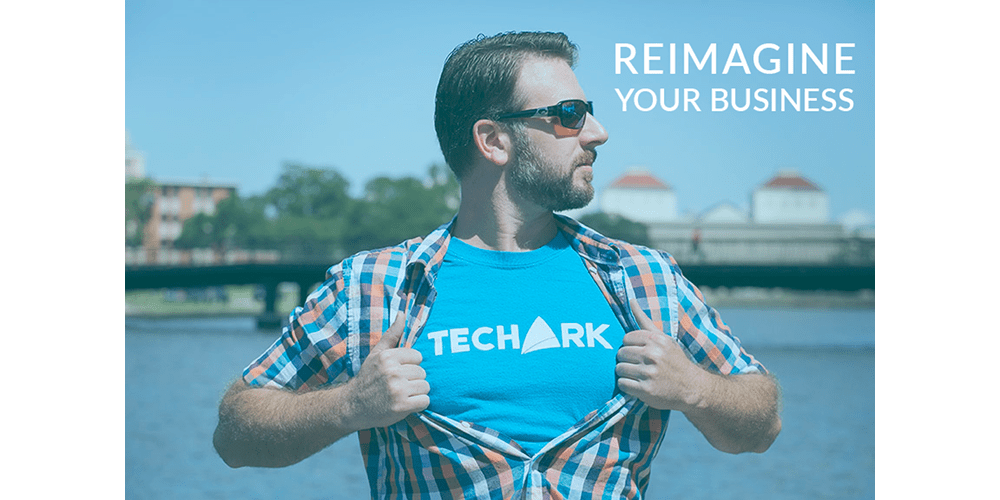 Man with TechArk tshirt